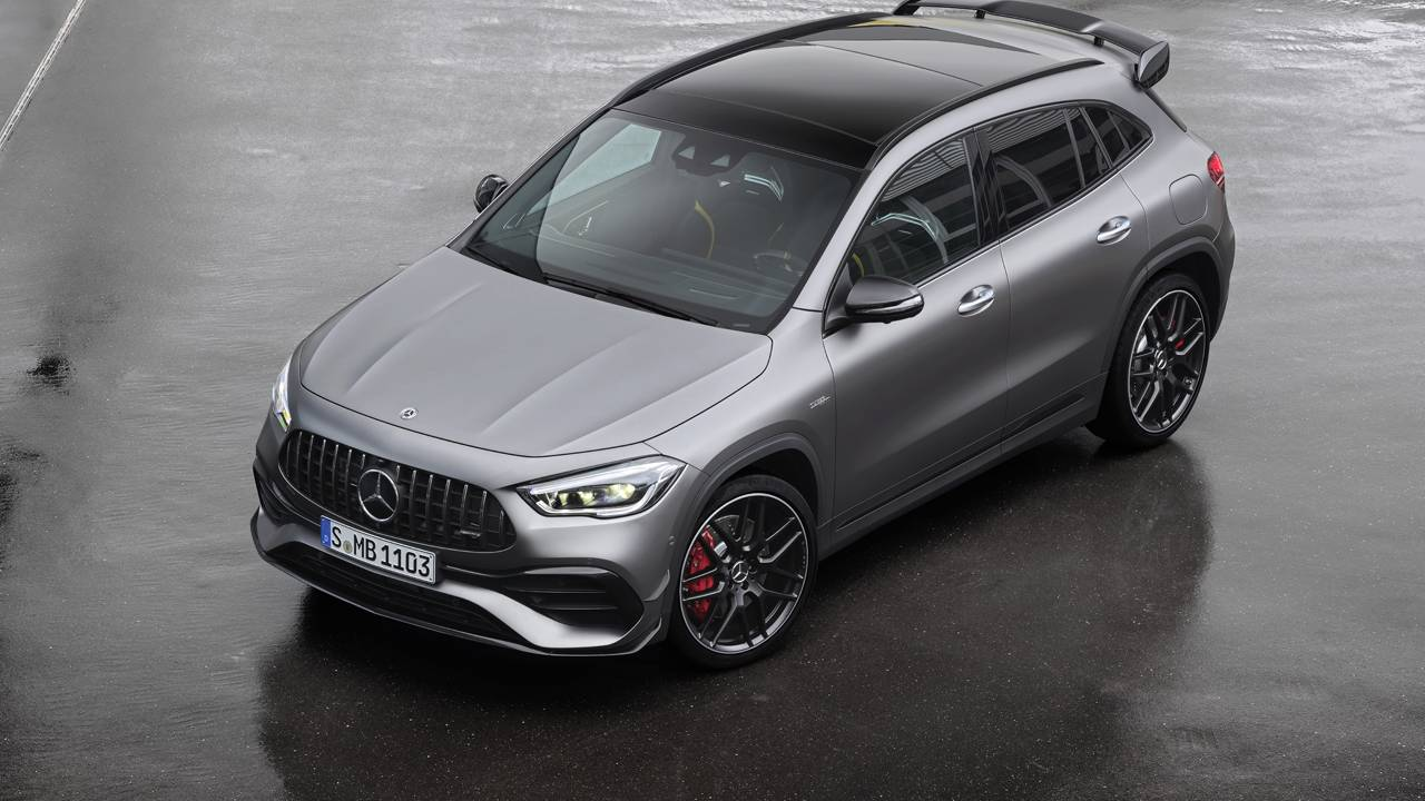 2021 Mercedes-AMG GLA 45 packs a 382hp turbo four