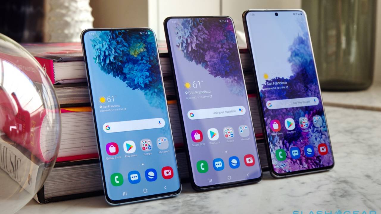 Samsung Galaxy S20 5G hands-on: Serious flagships are seriously expensive