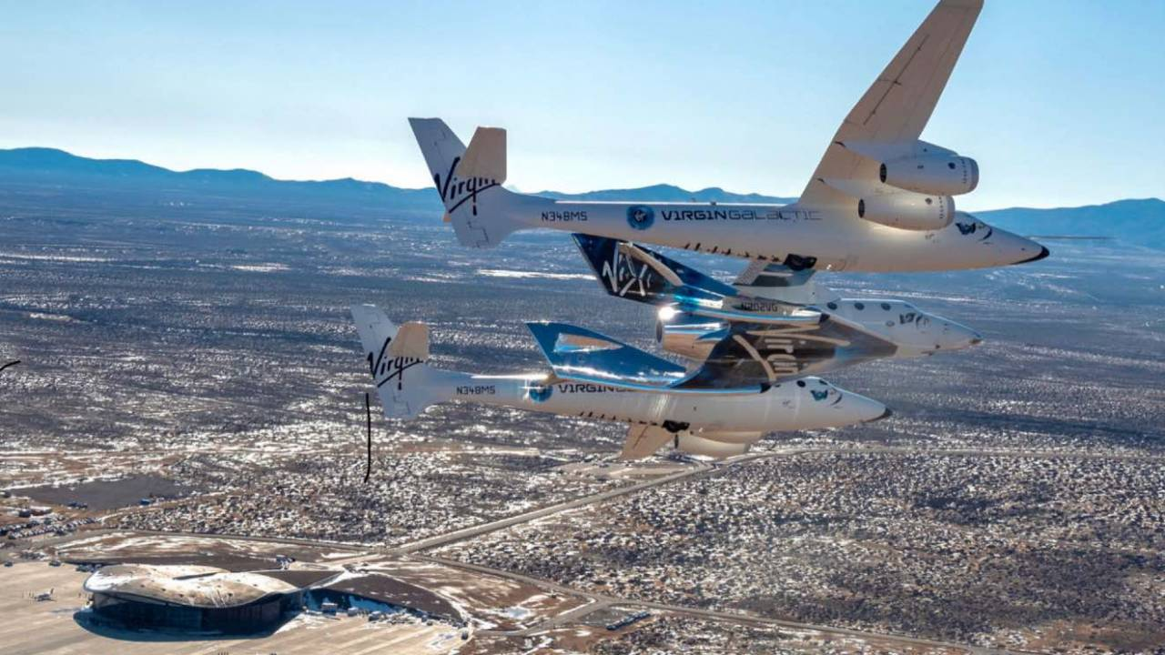 Virgin Galactic's VSS Unity relocated to Spaceport America in New Mexico