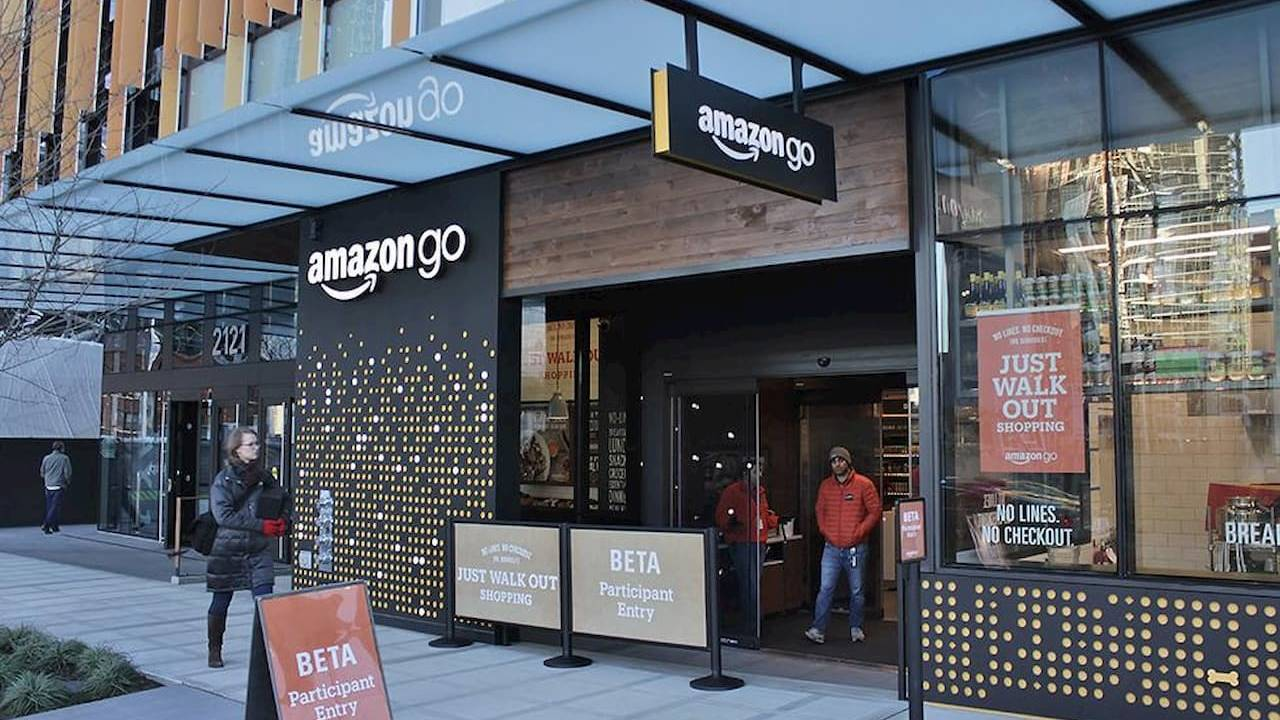 Amazon Go Grocery store opens, bringing AI shopping to a larger space