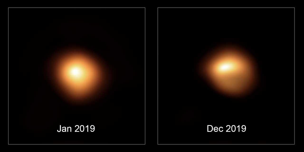 ESO Very Large Telescope views Betelgeuse before and after it dimmed - SlashGear