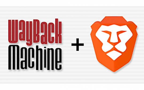 Brave web browser will link to Wayback Machine on offline pages