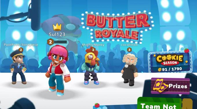 Butter Royale food fight game launches on Apple Arcade