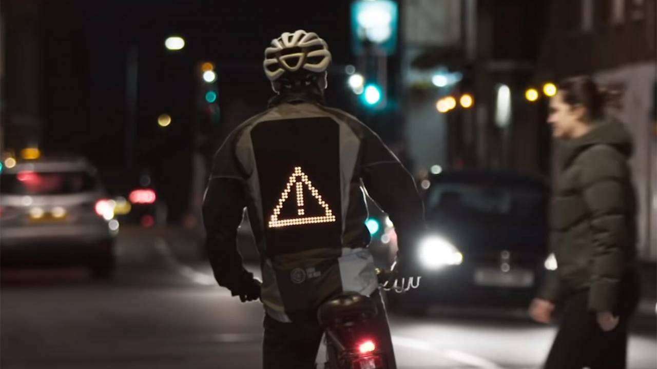 Ford Emoji Jacket lets cyclists communicate with drivers
