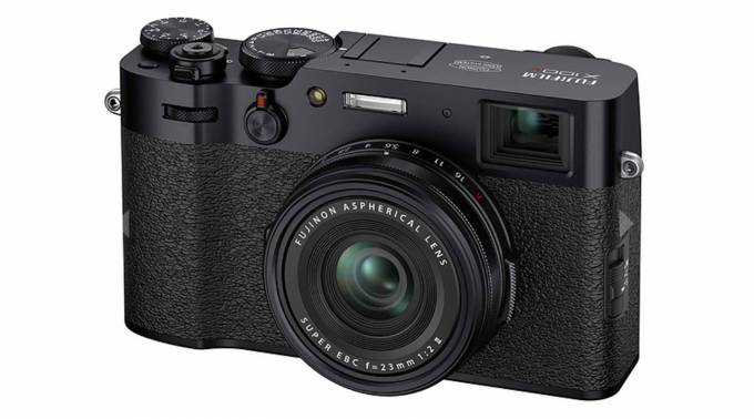 Fujifilm X100V compact camera launches with hybrid viewfinder