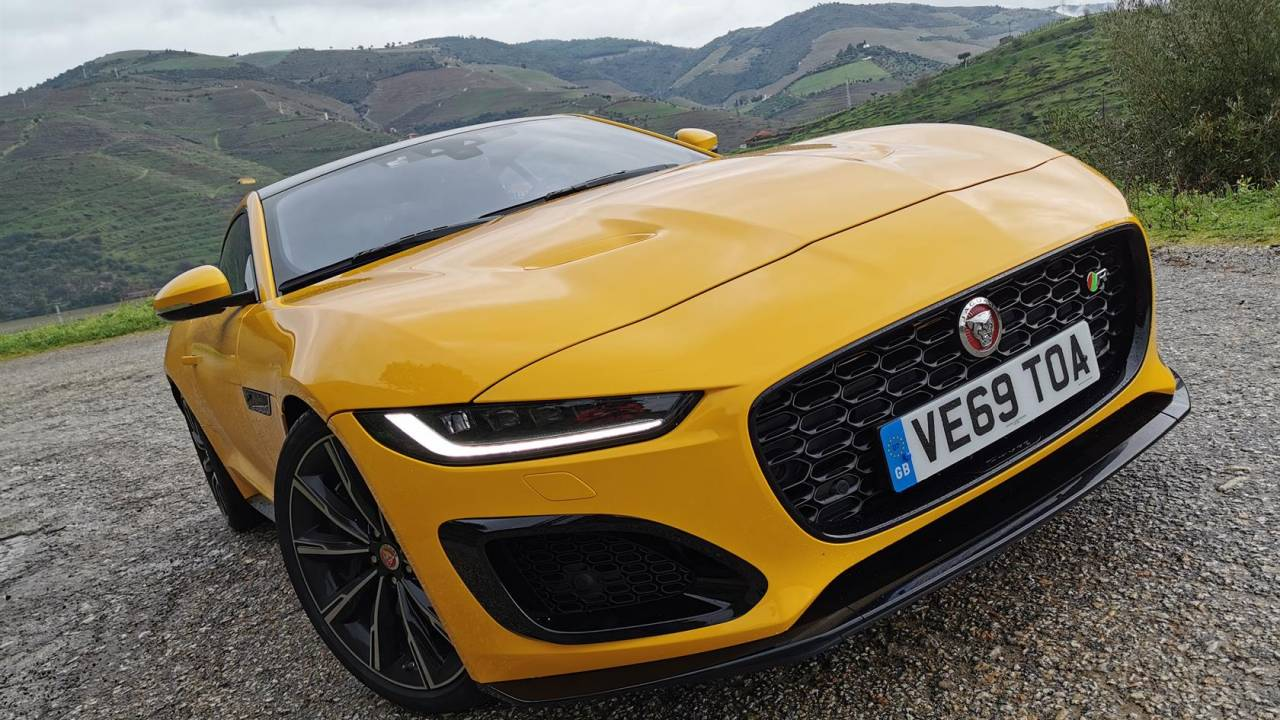 2021 jaguar f-type r and p300 first-drive review  an upgrade that surprises