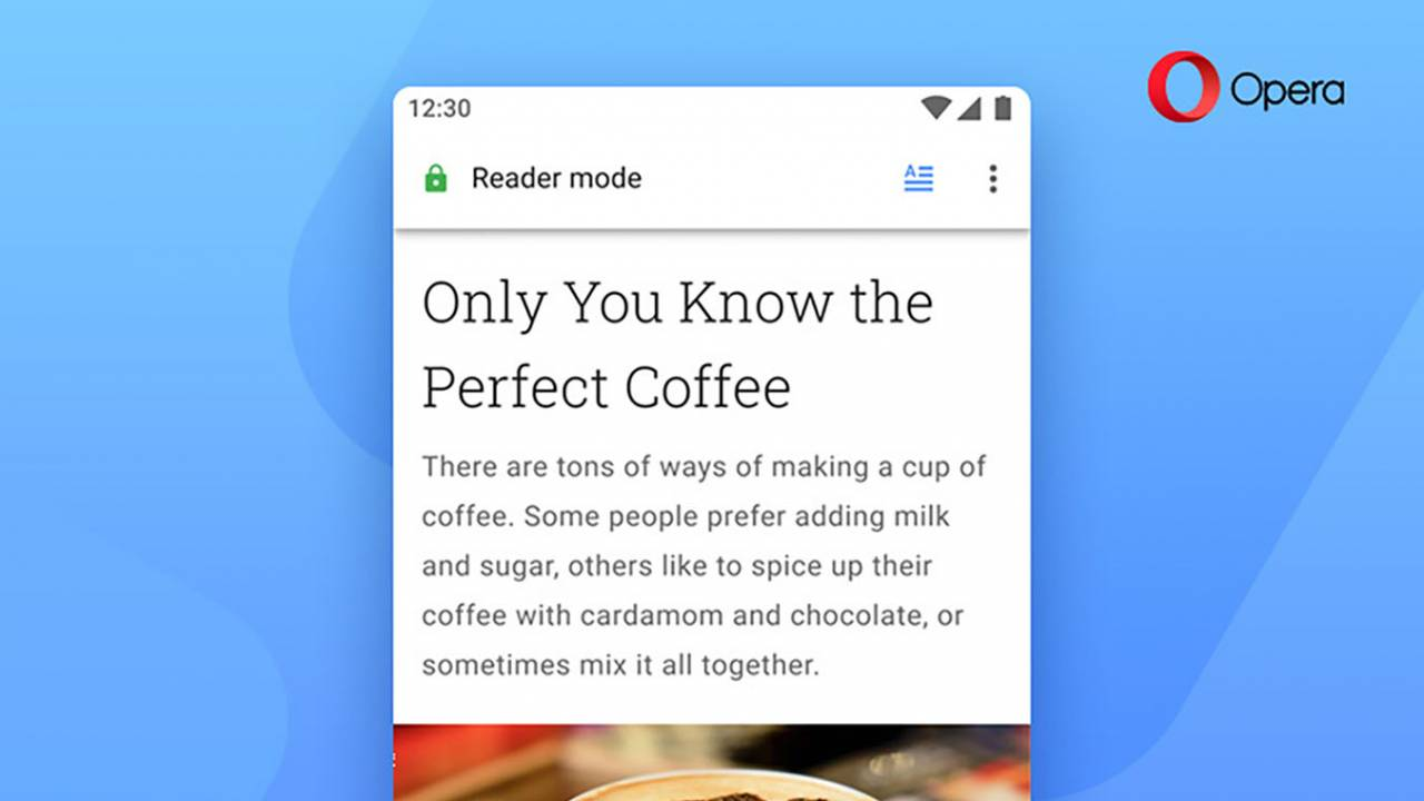 Opera 56 for Android adds new Reader Mode and custom action button