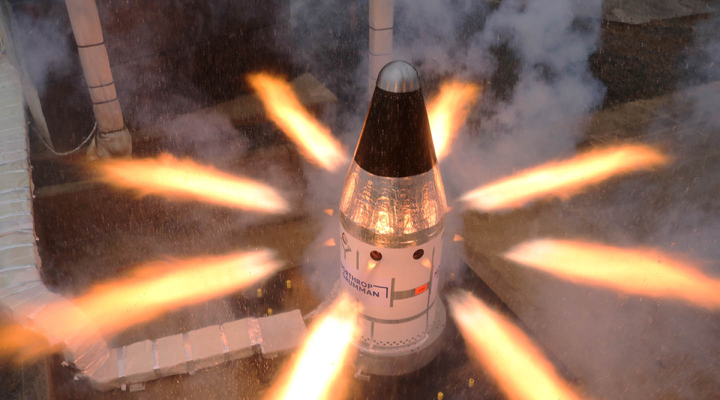 NASA says final Orion spacecraft ACM motor test was a success