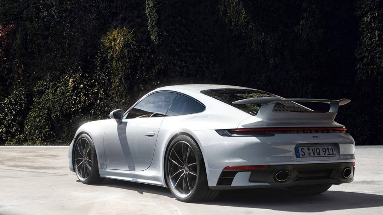 2020 Porsche 911 SportDesign and Aerokit packages add revised body components