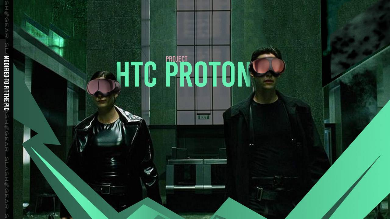 HTC Project Proton: VIVE XR glasses-style devices with Matrix aesthetic