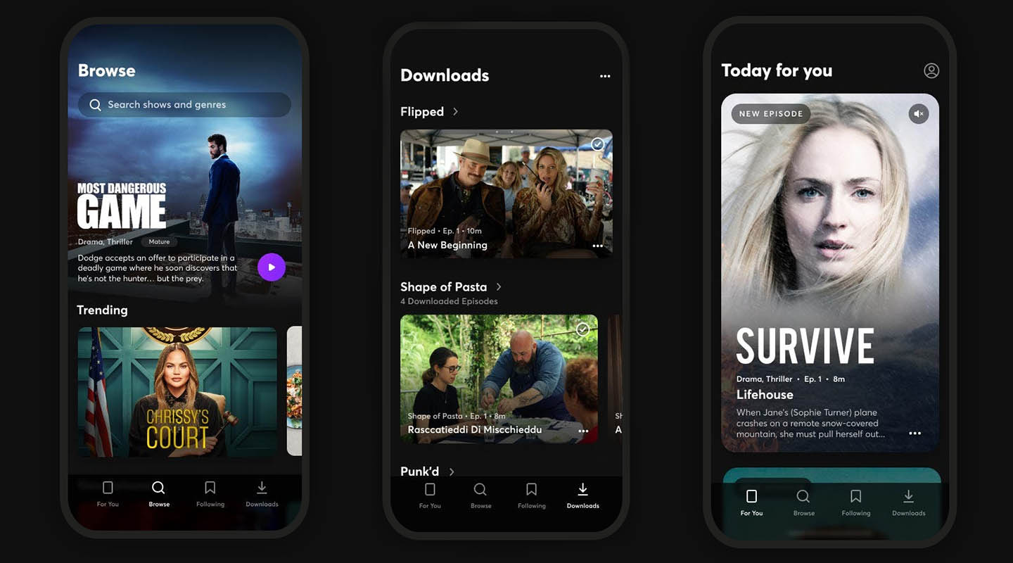 Quibi quick-bite video streaming app arrives with pre-registration - SlashGear