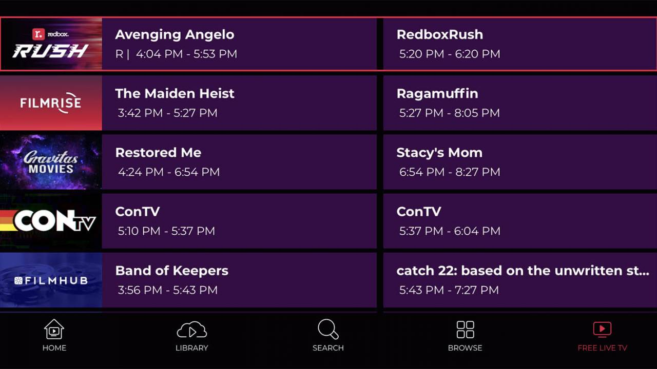 Redbox launches free livestreaming and ad-supported TV service