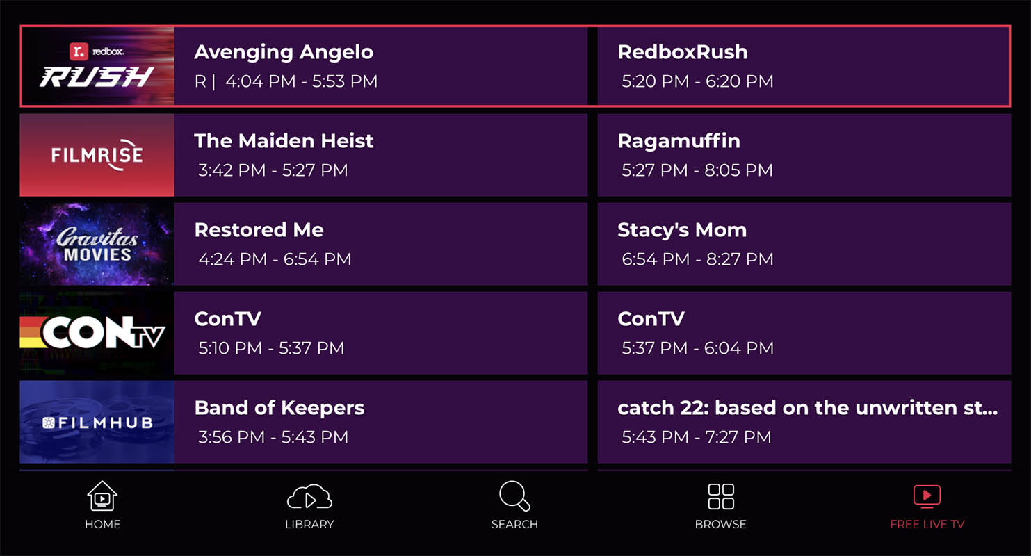 Redbox launches free livestreaming and ad-supported TV service - SlashGear