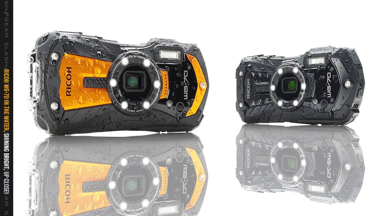 Ricoh WG-70 camera lets you take macro photos underwater