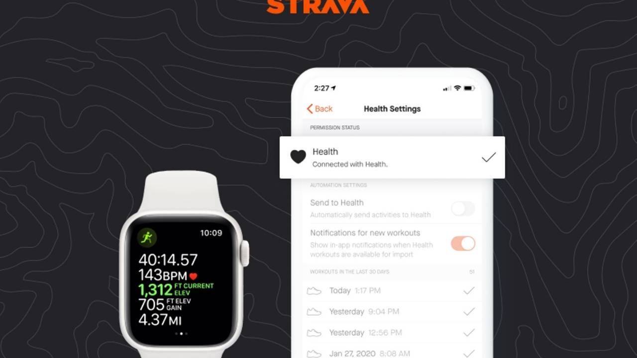 Strava finally syncs with the Apple Health on the Apple Watch