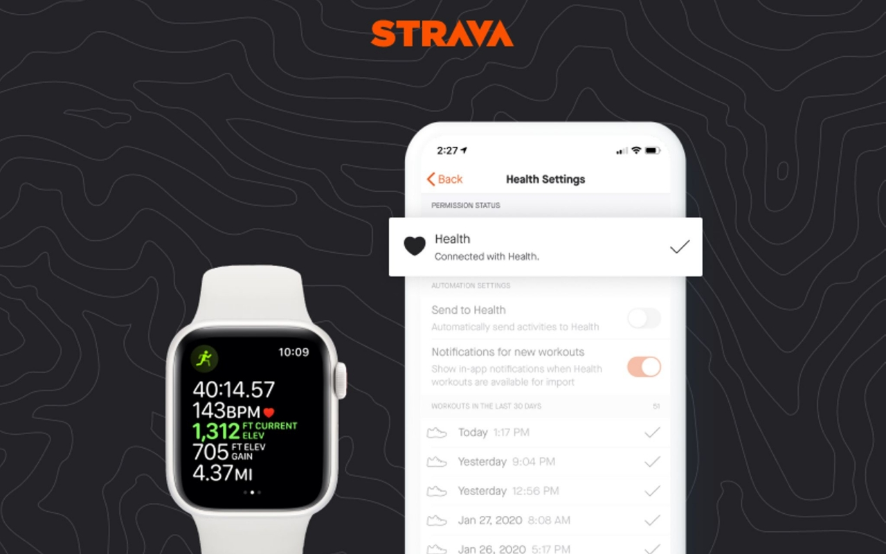 Strava finally syncs with the Apple Health on the Apple Watch - SlashGear