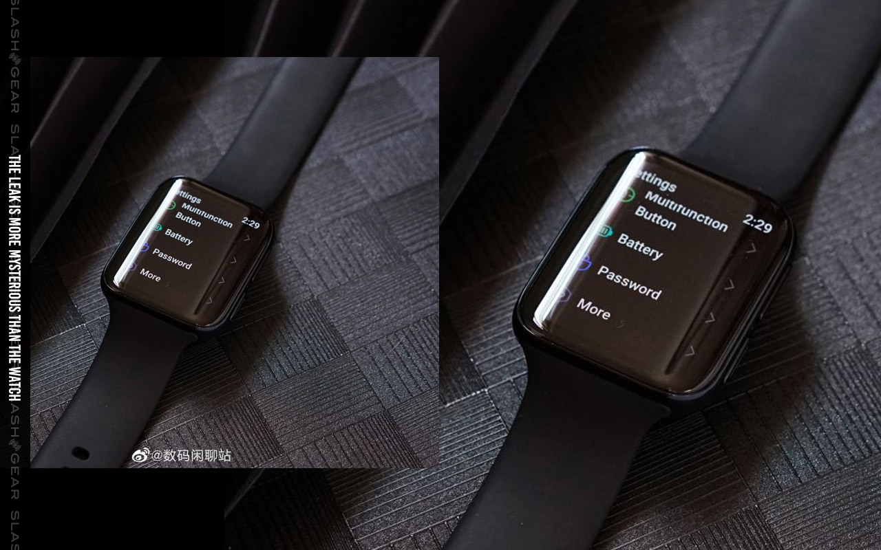 OPPO Watch curved screen mystery unraveling: Who made this? - SlashGear
