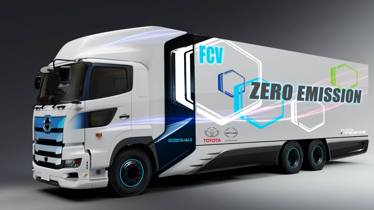 Toyota has a big hydrogen fuel-cell truck plan to cut CO2