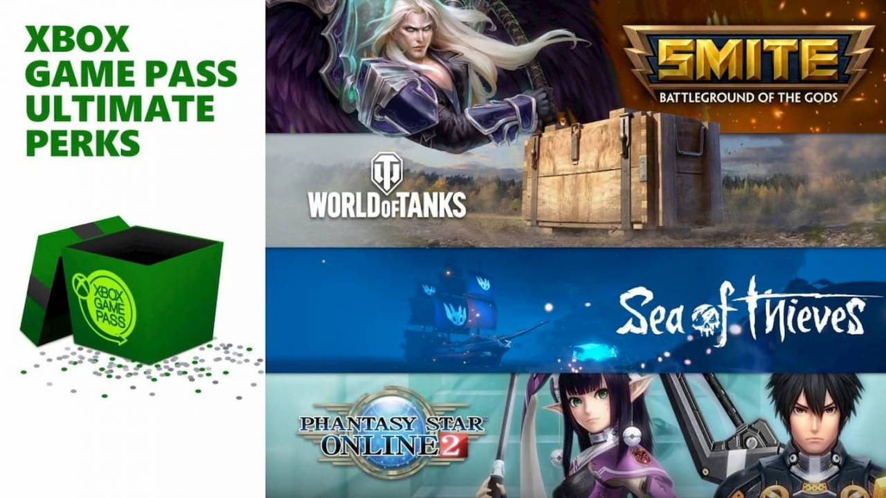 Xbox Game Pass Ultimate Perks serve up bonus content for subscribers