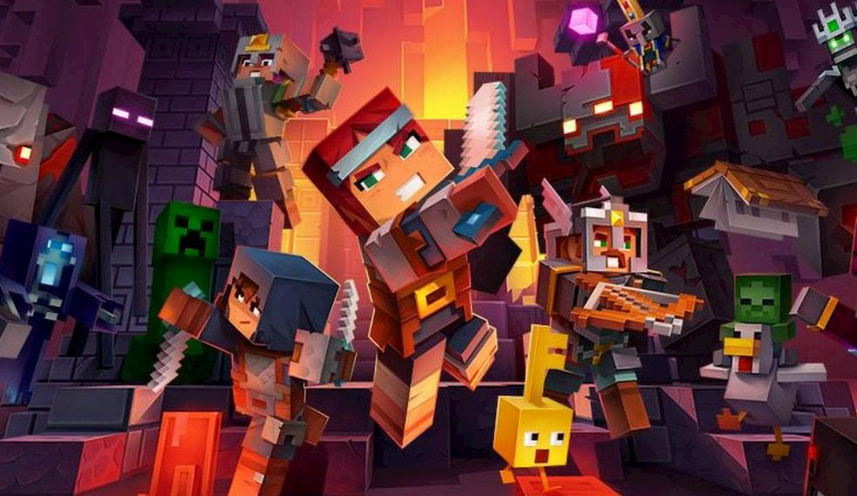 Minecraft Dungeons release date revealed