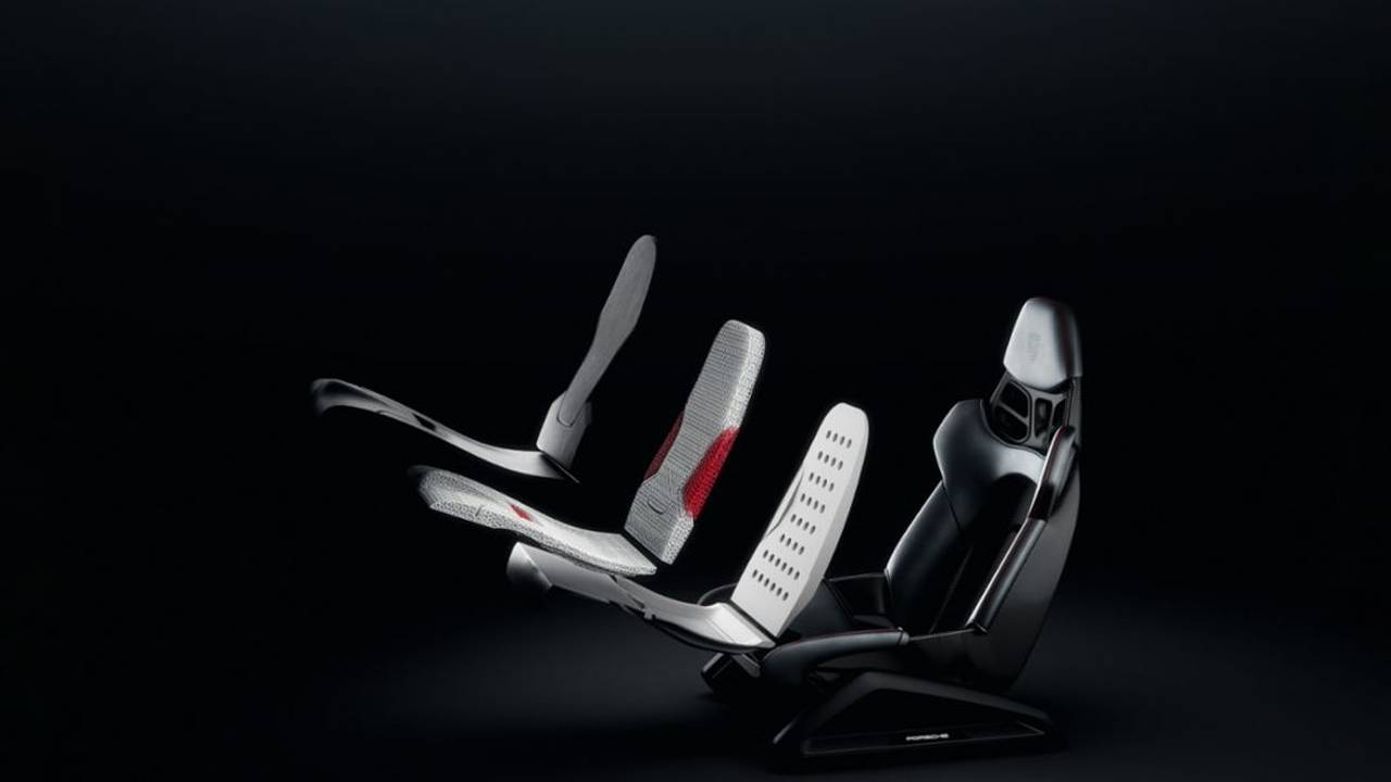 Porsche shows off technology for 3D printing bucket seats