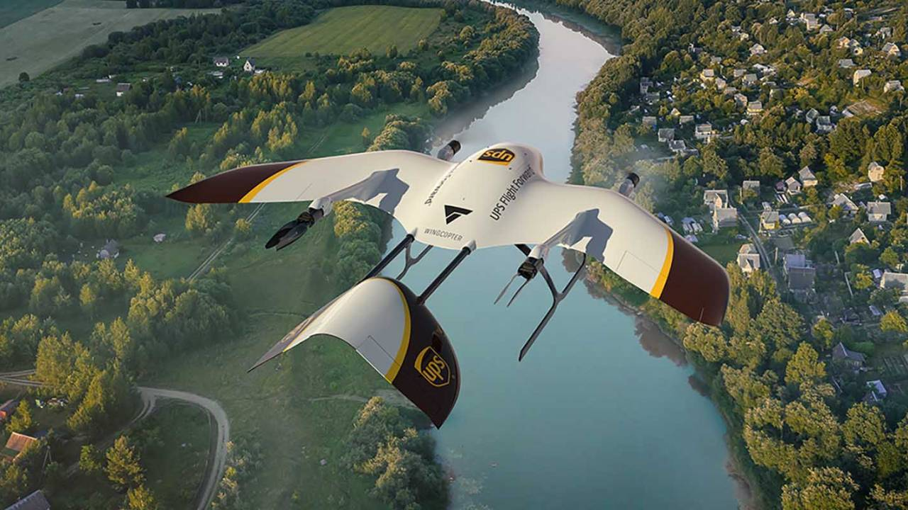 UPS will develop a fleet of VTOL drones for unmanned deliveries