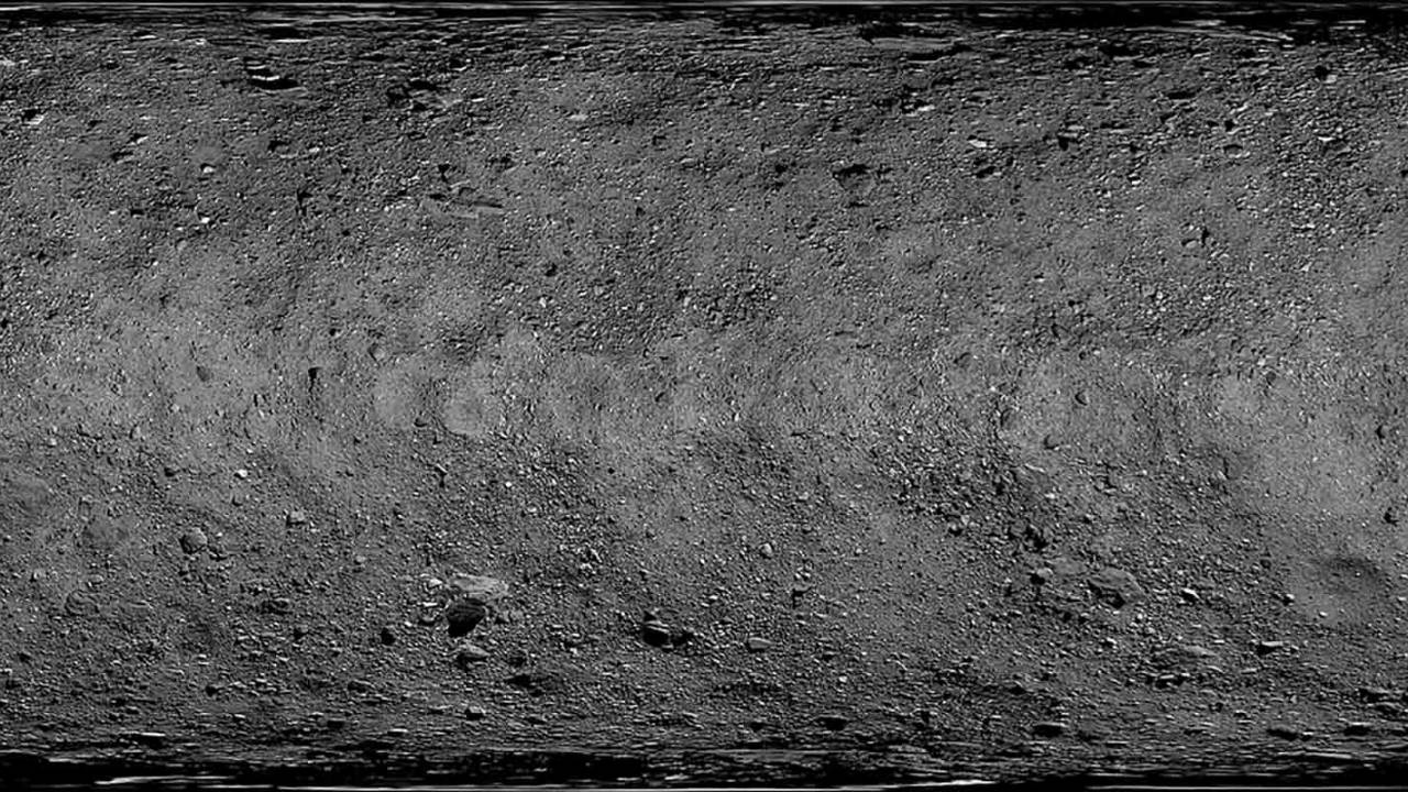 NASA reveals Bennu's entire surface in first high-resolution global map