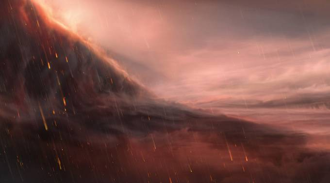 Exoplanet with 'extreme' ultra-hot surface may rain iron droplets