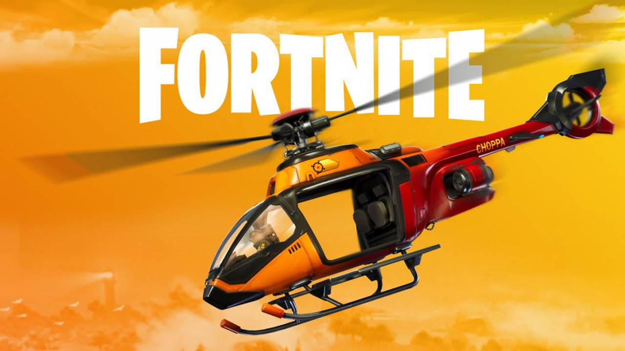 Fortnite Helicopter trick uses proximity mine for autopilot