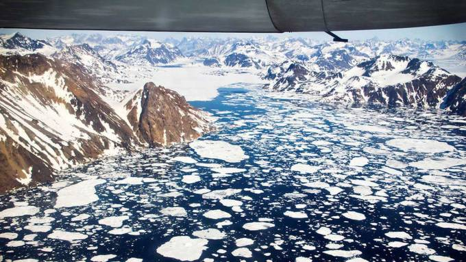 NASA says Greenland and Antarctic ice sheets are melting six times faster than in the '90s