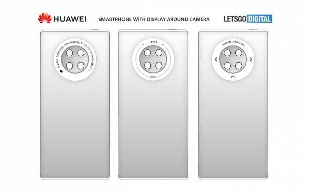 Huawei Mate 40 camera ring could be a multi-functional touch screen