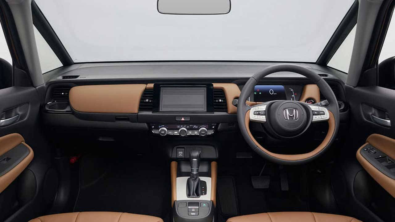 Honda Jazz sticks with physical controls for some functions