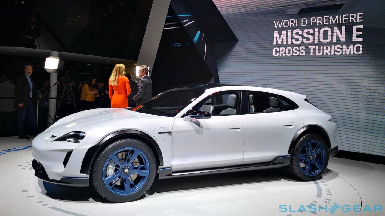 Porsche Taycan Cross Turismo release date detailed as EV range grows