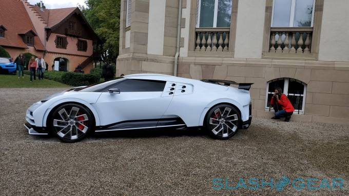 Bugatti Centodieci is limited to ten units, and Christiano Ronaldo has one