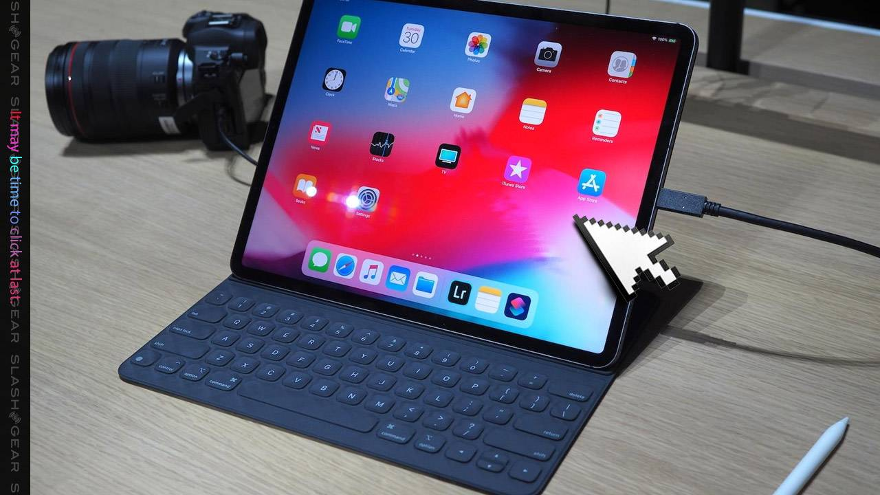 Mouse cursor release leaked for iPad, iPhone
