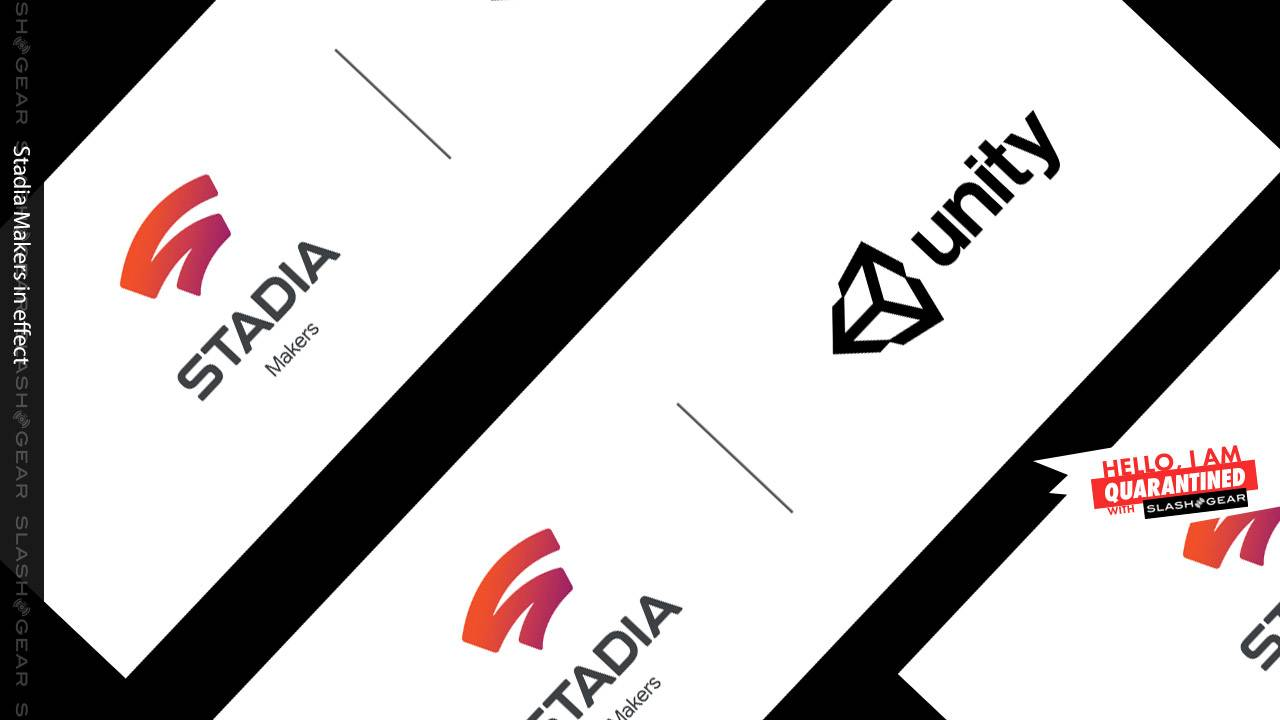 Stadia Makers revealed with Unity, bringing funds for games