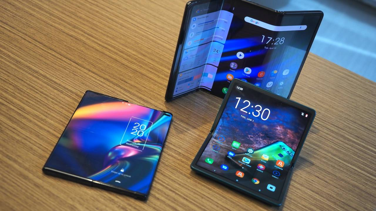 TCL showed me its foldable phone prototypes – now I'm excited