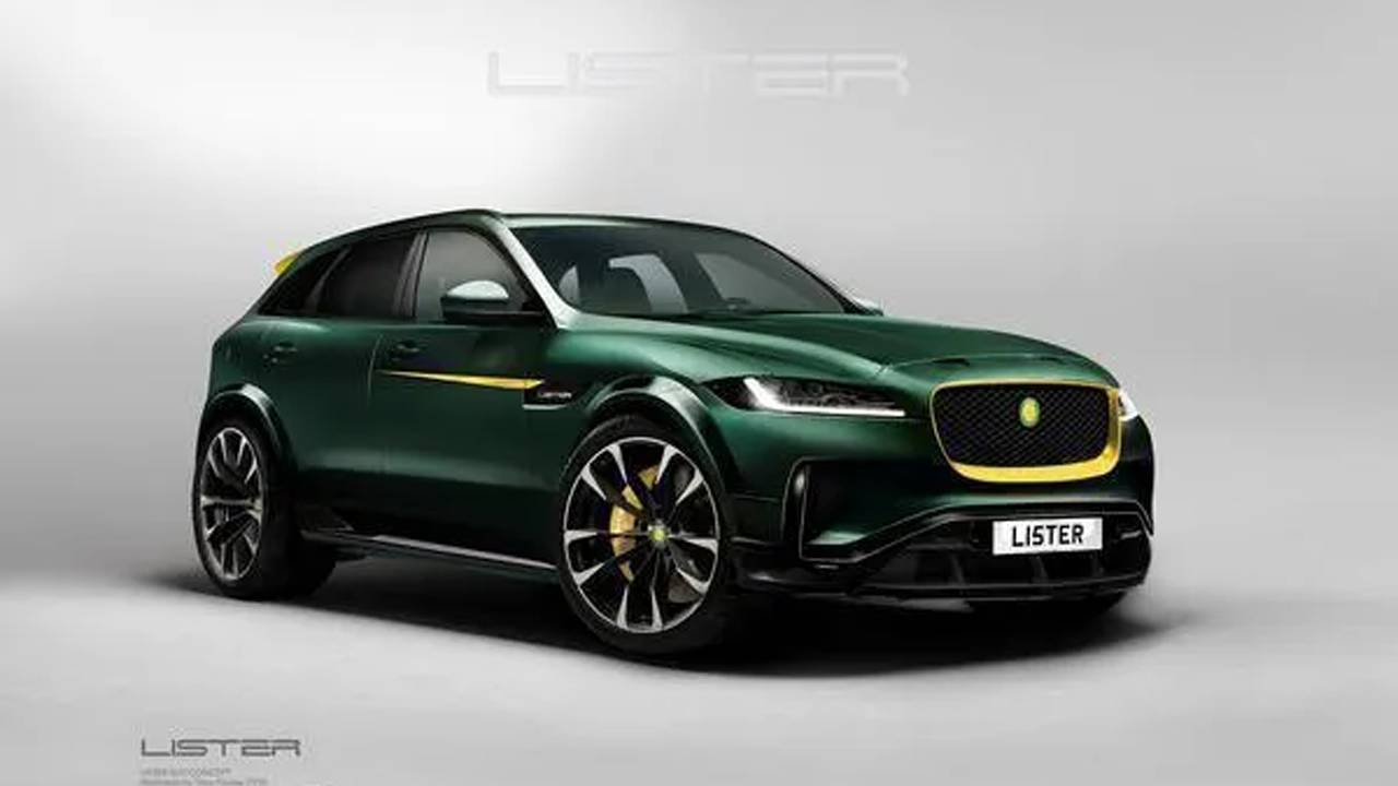 Lister Stealth SUV claims to be the world's fastest with a 200 mph top speed