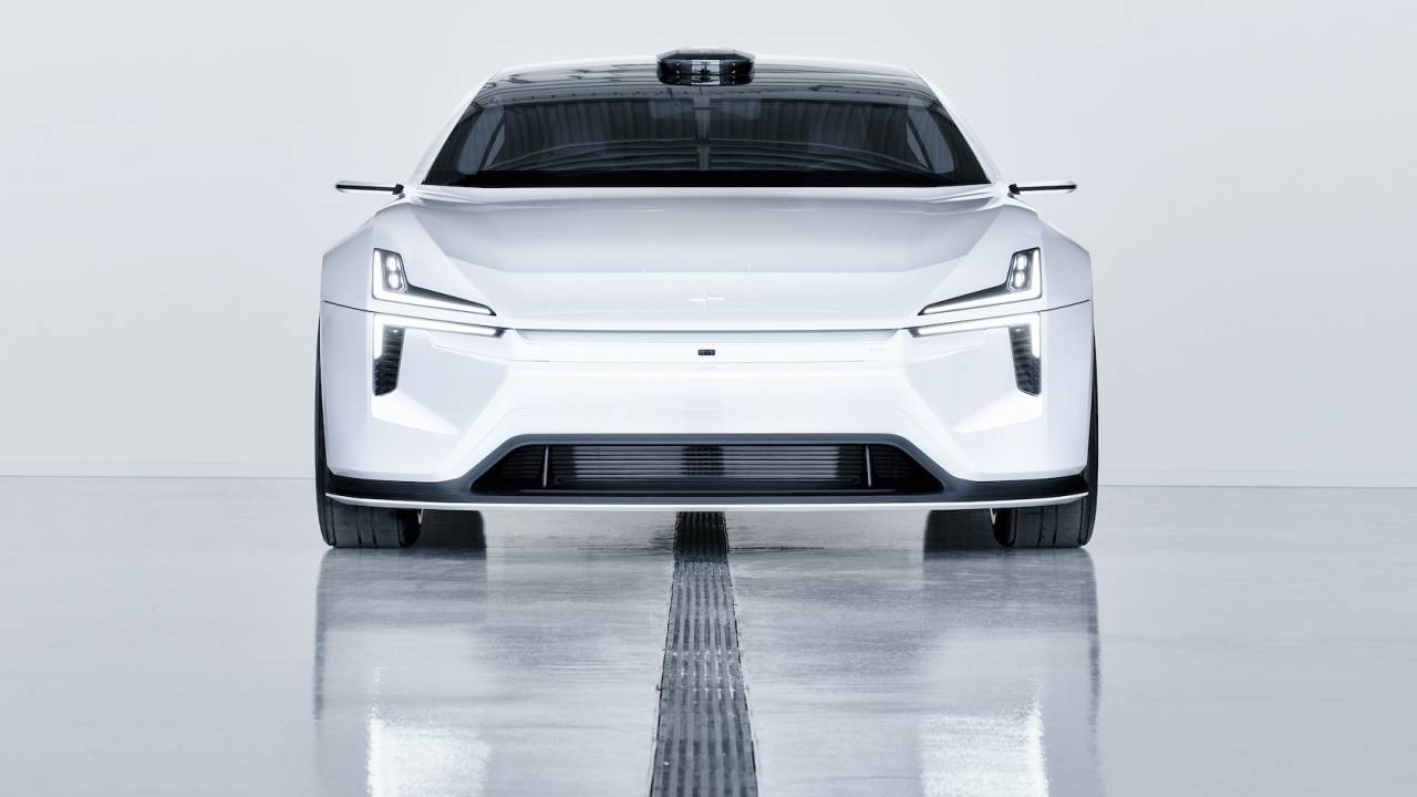 The Polestar Precept EV is ready to embrace what other cars hide