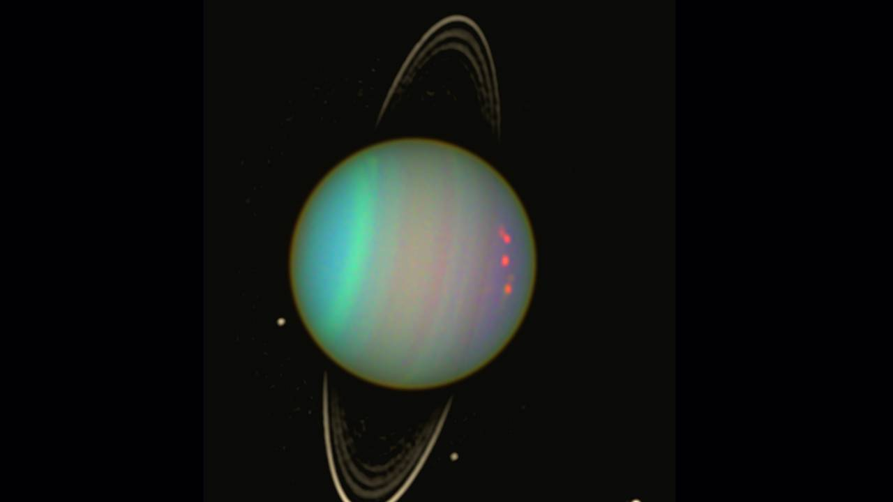 Solar system smash could explain Uranus' big mystery