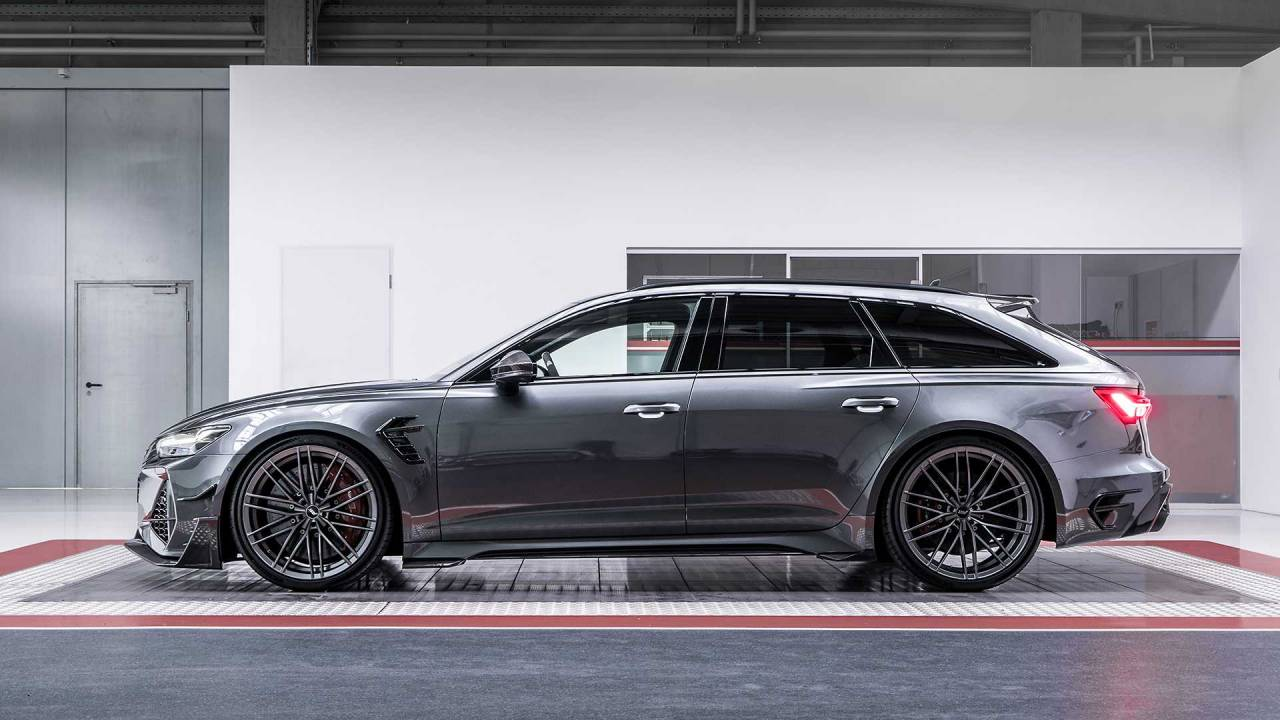 ABT Sportline's RS6-R is an Audi RS6 Avant on steroids