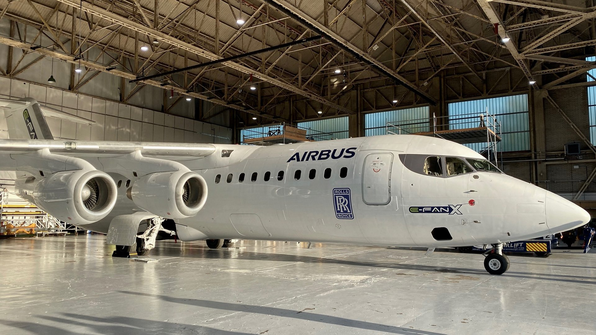Airbus and Rolls Royce E-Fan X hybrid plane gets permanently grounded