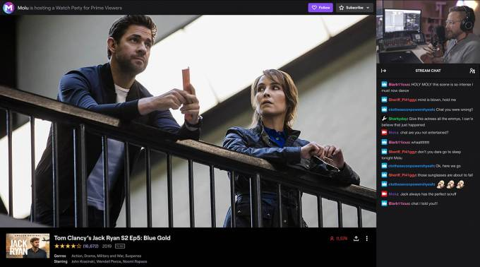 Twitch Watch Parties beta feature with Prime Video expands in US