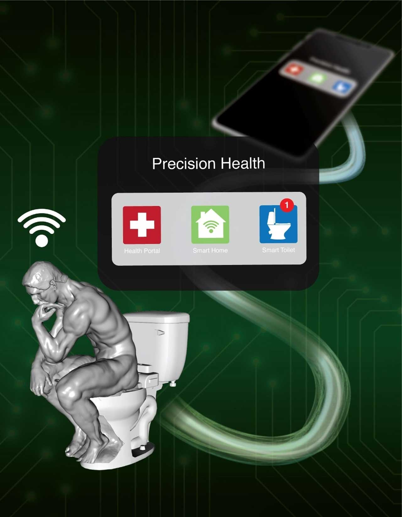 Stanford smart toilet monitors users for signs of disease