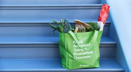 Instacart shoppers will soon receive health kits with face masks