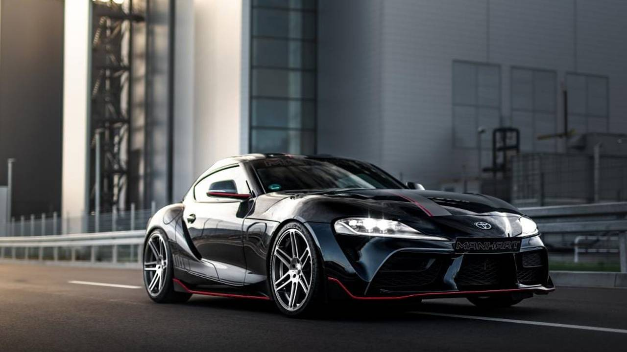 Manhart Supra GR 450 makes 450 horsepower and 650 Nm torque