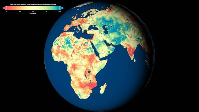 NASA expands groundwater maps globally to help reveal remote droughts