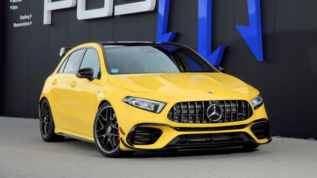 Mercedes-AMG A45 S by Posaidon is the hottest of hot hatchbacks