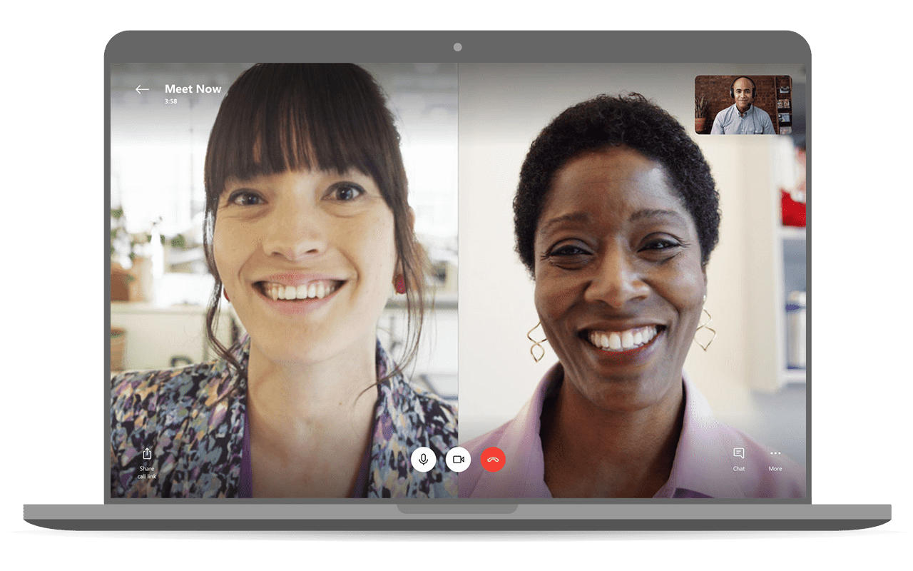 Skype Meet Now lets you video chat without sign-ups or downloads