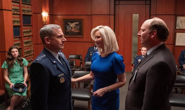 Netflix's Space Force series with Steve Carell teased in new images